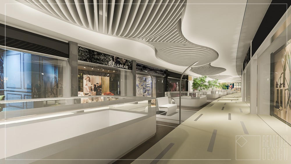 SHOPPING MALL INTERIOR CONCEPT IN MINSK 2 3 4